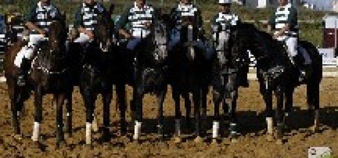 Vitória do  Sporting Horseball frente à Cascais Horseball
