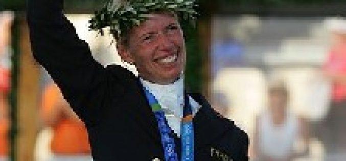 Atenas 2004: Medalha de Ouro para Anky van Grunsven