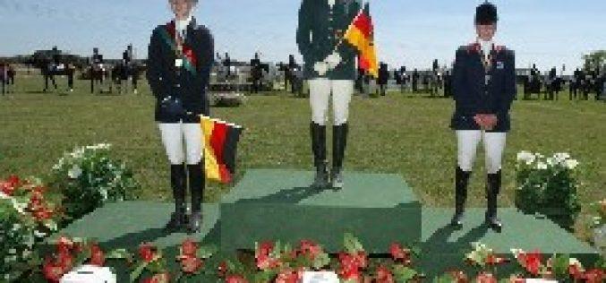 Medalha de Ouro Individual e por equipas para a Alemanha em Alcochete