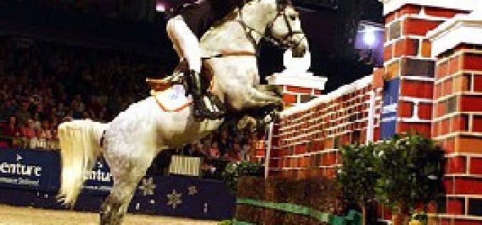 Romance no Olympia Horse Show …