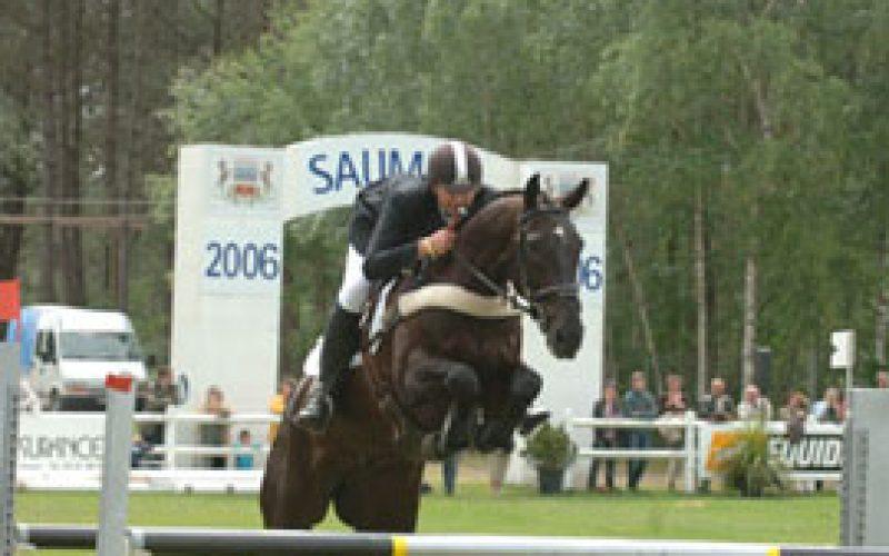 Clayton Fredericks a winner at Saumur