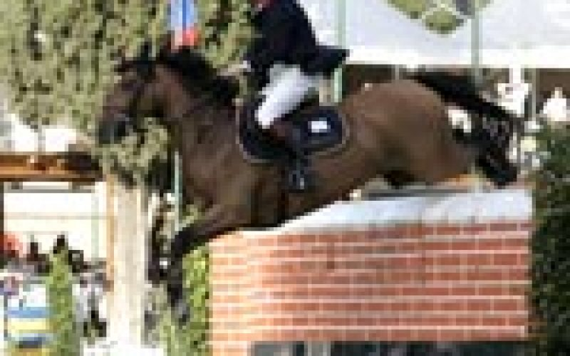 Robert Smith clinches the Rome Puissance