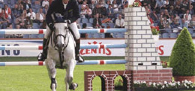 "Jos Lansink won at Aachen the ""Battle of the Sexes"""