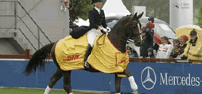 "A ""doublet"" for Nadine Capellmann at Aachen"