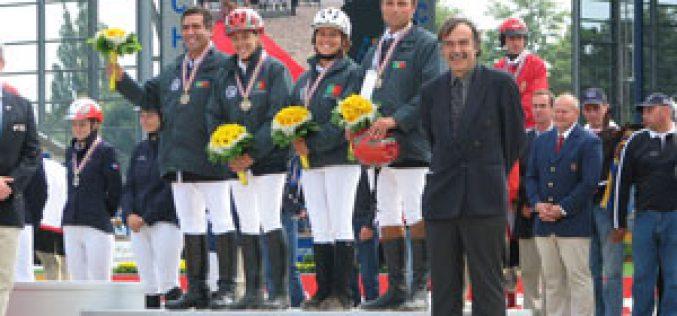 Bronze para Portugal nos JEM
