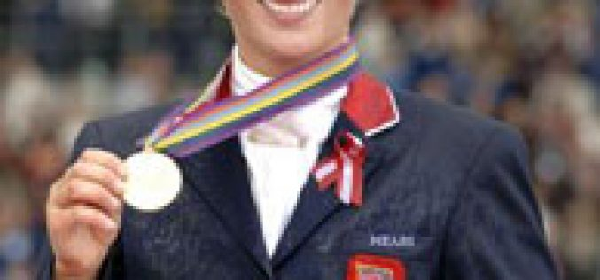 JEM: Medalha de Ouro para Zara Phillips