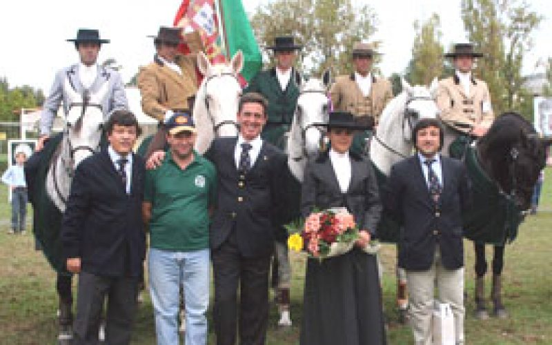 Gold for Portugal at the II World Working Equitation Championships
