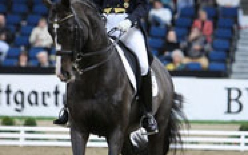 Isabell Werth back at the very top again in Stuttgart