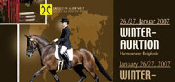 Verden Winter Auction – January 26/27, 2007