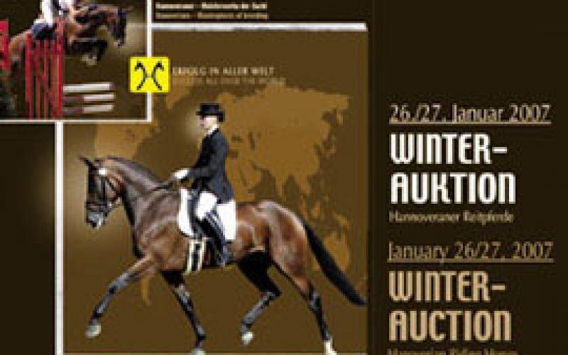 Leilão de cavalos de desporto em Verden