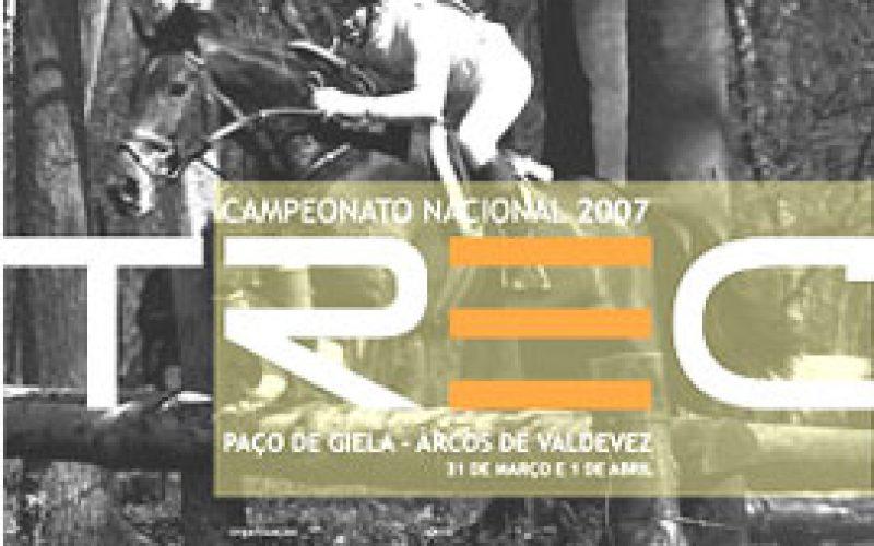 Adiada a Prova do Campeonato Nacional TREC 2007 Arcos de Valdevez