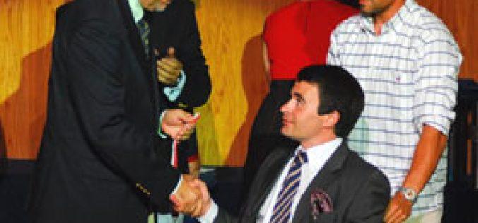 Luís Lopes distinguido com a Medalha de Mérito Desportivo