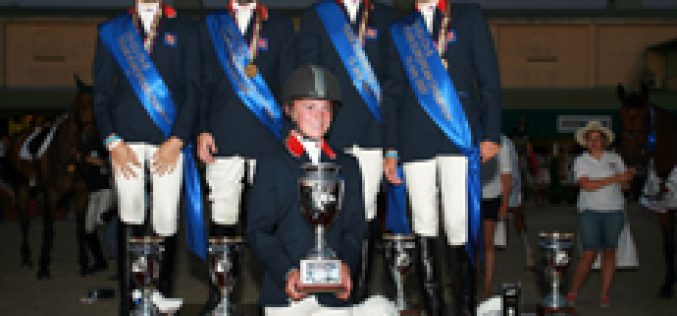 Istambul: Children's Show Jumping – Portugal claimed 4th place in the Nation's Cup