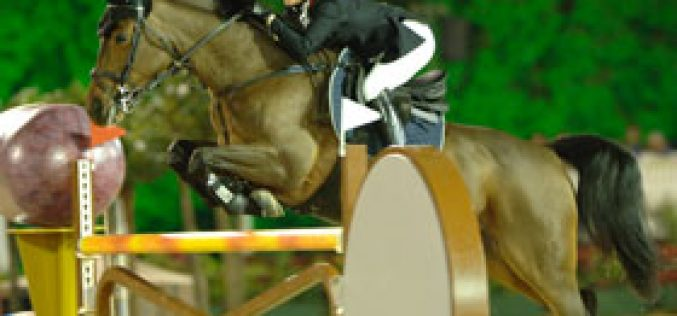 Jessica Kurten races to victory at Global Champions Tour in Monte Carlo