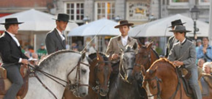 Lusitanos applauded at Aachen's Opening Ceremony