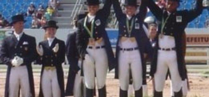 U.S. dressage team wins Pan Am Gold Medal