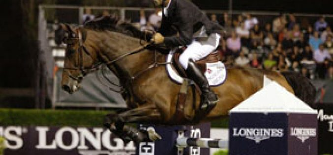 Jurado stands out at the Grand Prix Longines