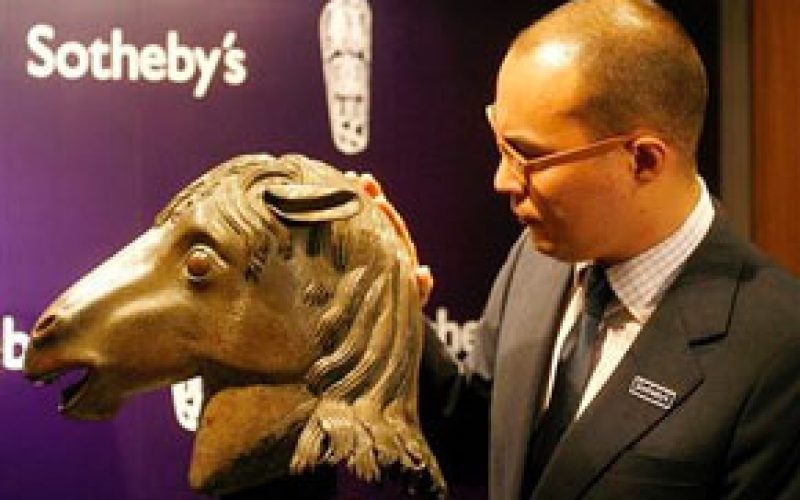 Casino Boss Stanley Hoy buys bronze horse head