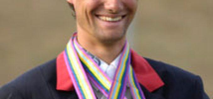 Gold for Nicolas Touzaint