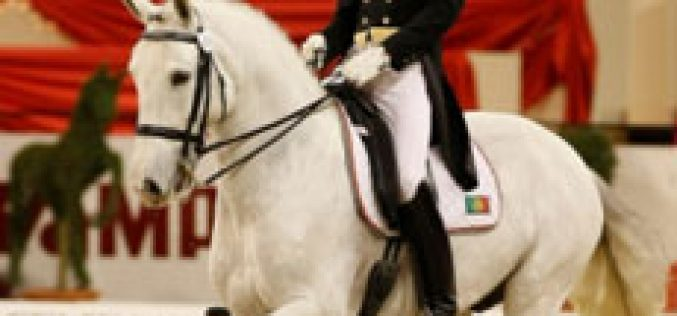 Lusitano influence at Young Riders World Championship