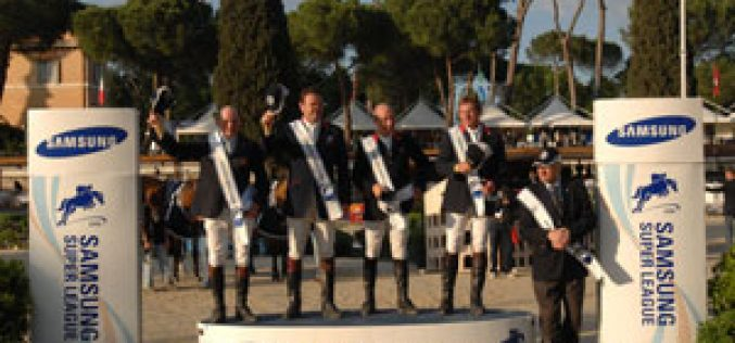 CSIO Rome: Britain claims the Nations Cup