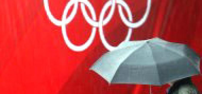Hong Kong cyclone delays Olympic horses