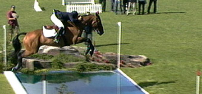 William Funnell third win in the Hickstead Derby