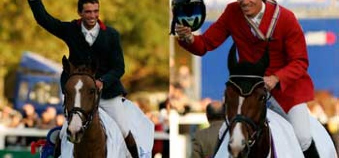 Charlie Weld and Petrus of Triballus world Champions