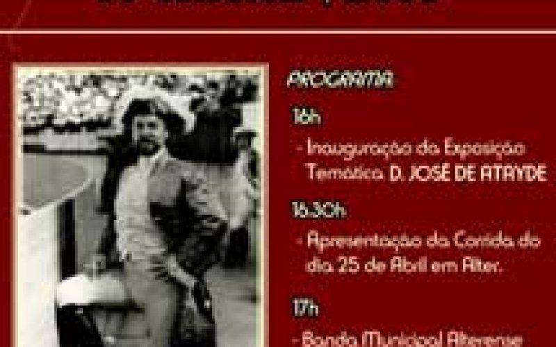 Alter homenageia D. José de Athayde
