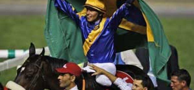 Glória de Campeão wins de Dubai Cup