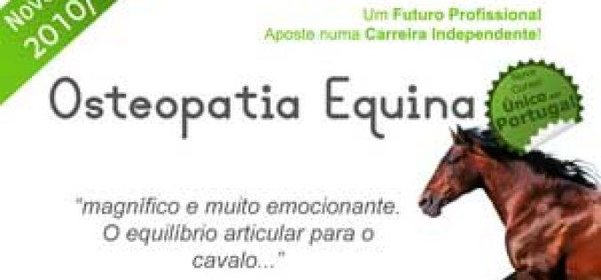 Curso de Osteopatia Equina