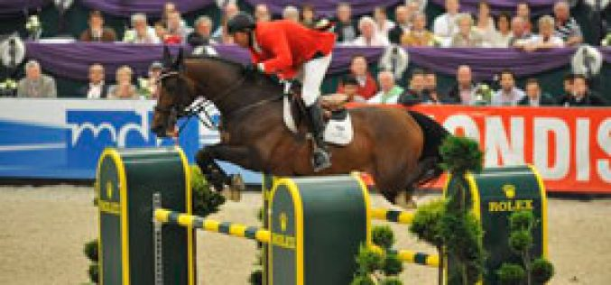 Ahlmann and Kutscher share lead into Jumping Final