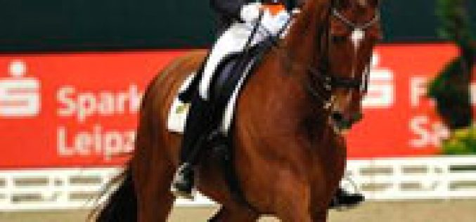 Adeline cruises to victory in the FEI World Cup Grand Prix