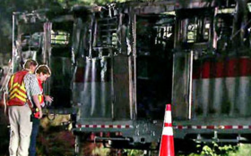 Trailer fire kills six race horses