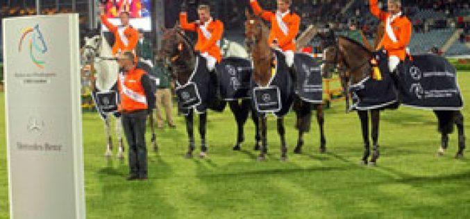 Holanda ganha a Taça das Nações de Aachen