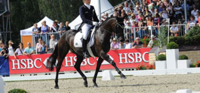 Record-breaking Germans lead the field at the European Eventing Championships