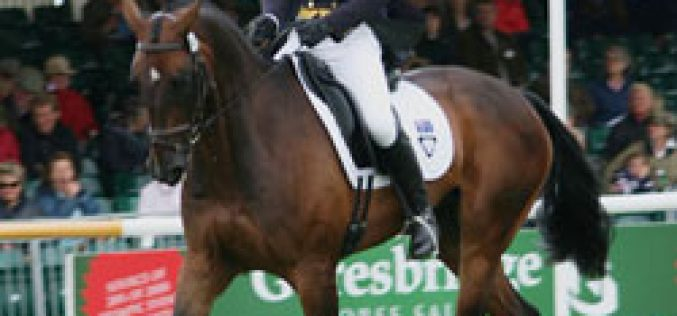 Sam Griffiths and the Australian riders dominated the FEI World Cup dressage test