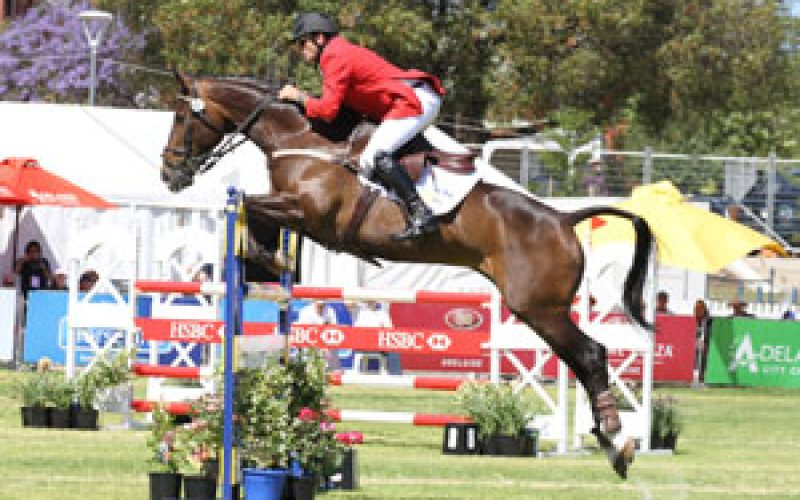 Stuart Tinney  and Panamera produced a superb Jumping clear today to clinch victory at the HSBC FEI Classics™ in Adelaide