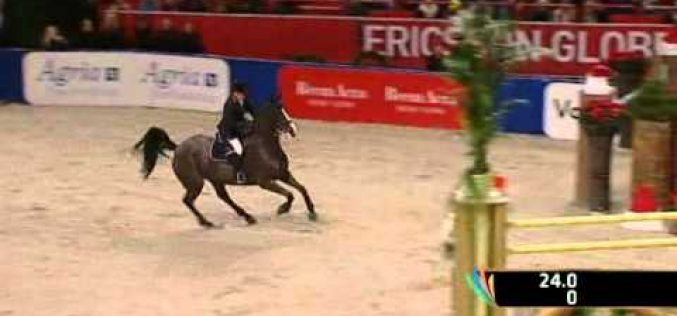 John Whitaker ganha o Grande Prémio de Estocolmo (27/11/11)