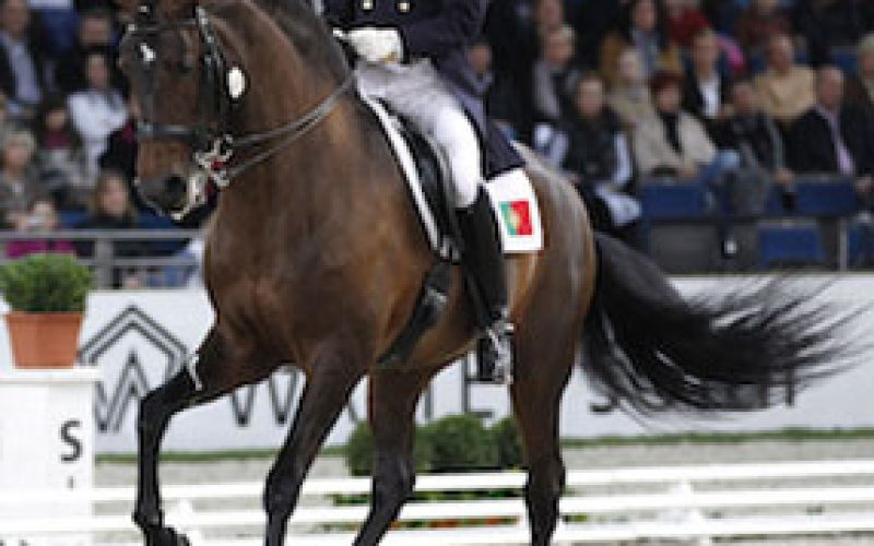 Isabell Werth and El Santo repeat their win in the Grand Prix Special in Stuttgart