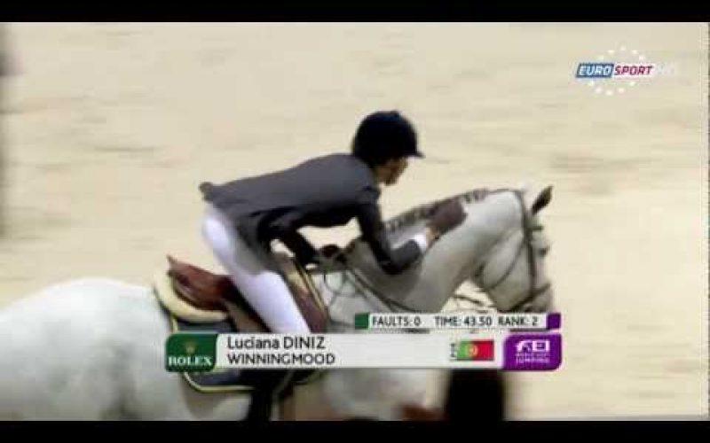 Luciana Diniz qualificada para Londres 2012 (02/03/12)