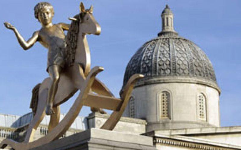 Novo inquilino na quarta Coluna de Trafalgar Square