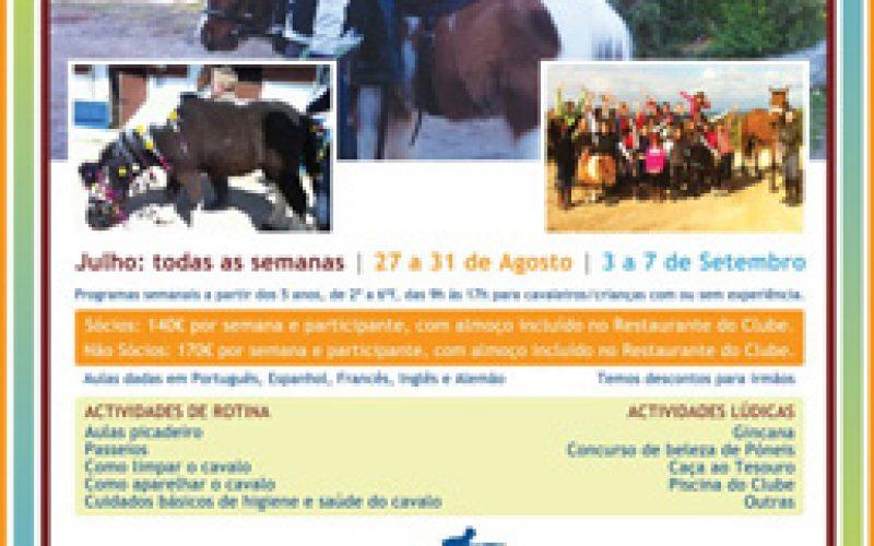 Horses R'us Clínicas de Verão 2012