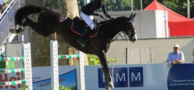 Young German rider trumps the world's best