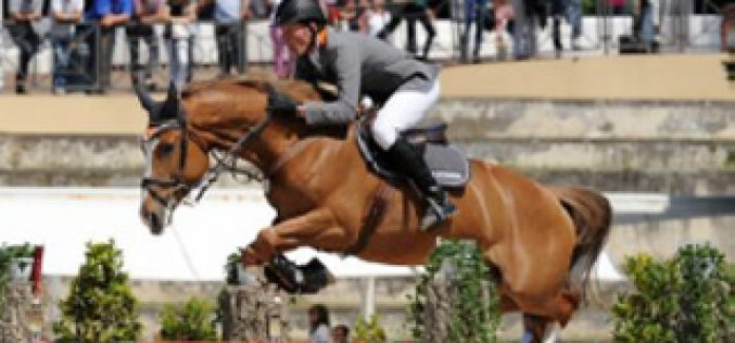 Ludger Beerbaum claims victory in the Rome Grand Prix