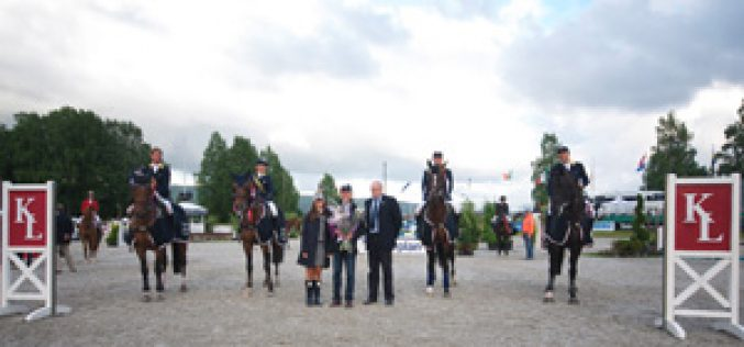 Ukraine leads the FEI Nations Cup League 2012