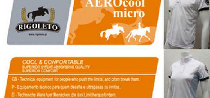 RIGOLETO lança gama de camisas «AEROCOOL»