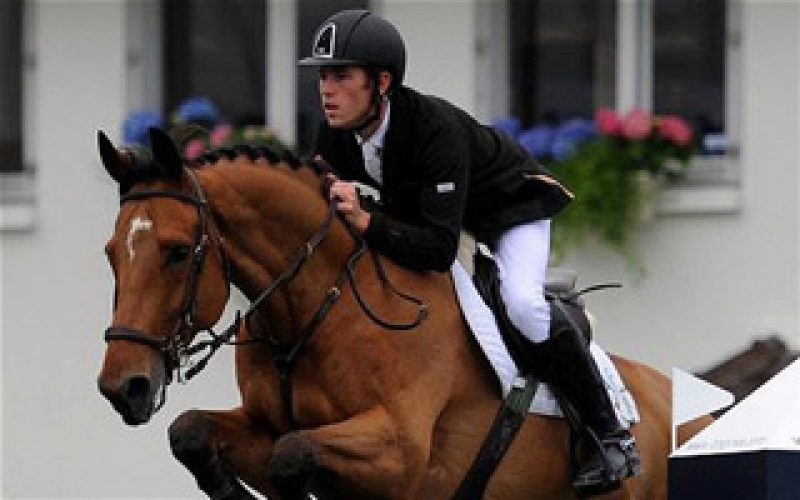 London 2012 Olympics: Lord Harris believes Hello Sanctos and Scott Brash can win first show jumping gold since 1952