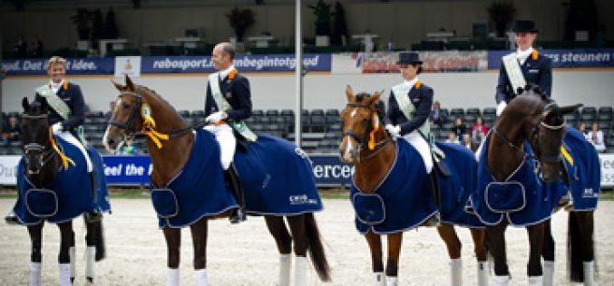 Netherlands wins Nations Cup Grand Prix Dressage in Rotterdam