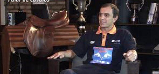 José Bueri no programa 'Falar de Cavalos'